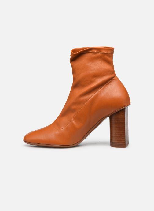 Boots en enkellaarsjes Clergerie JONASE STRETCH Bruin voorkant