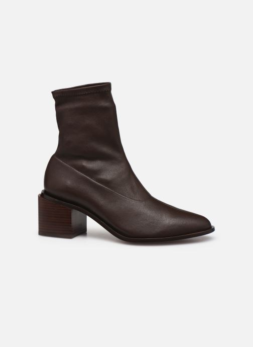 Bottines et boots Clergerie XYA STRETCH Marron vue derrière
