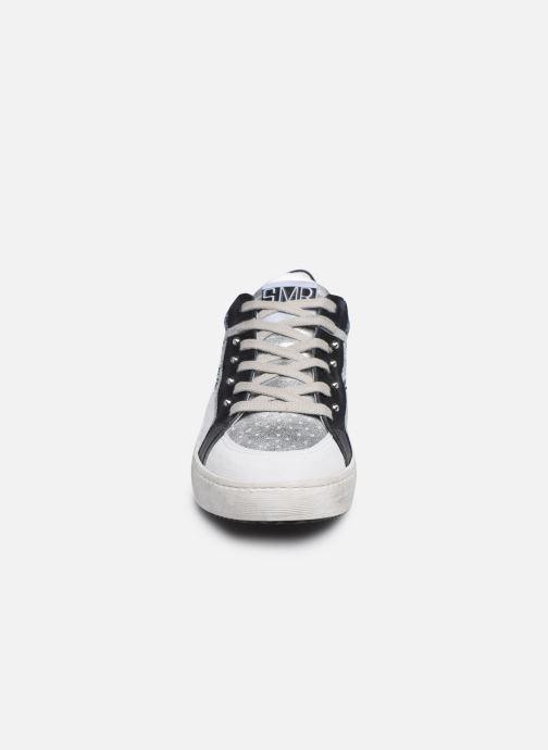 Baskets Semerdjian VANA Argent vue portées chaussures