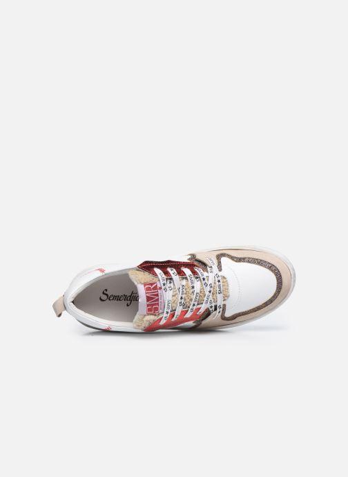 Sneakers Semerdjian SONA Wit links