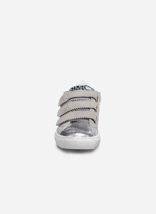 Baskets Semerdjian DONIG Argent vue portées chaussures