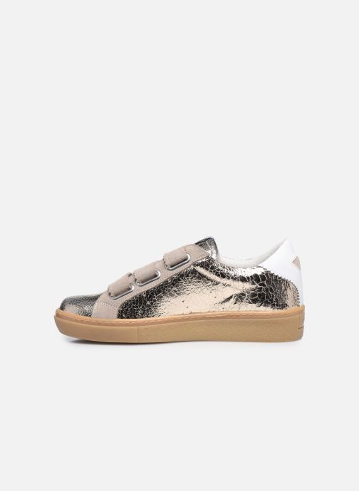 Sneakers Semerdjian DONIG Goud en brons voorkant
