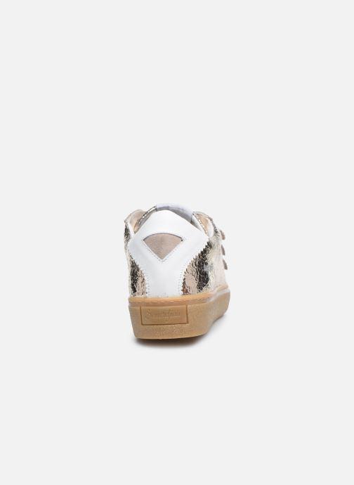 Sneakers Semerdjian DONIG Goud en brons rechts