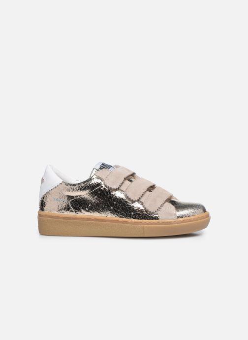 Sneakers Semerdjian DONIG Goud en brons achterkant