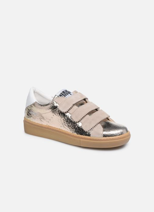 Sneakers Semerdjian DONIG Goud en brons detail