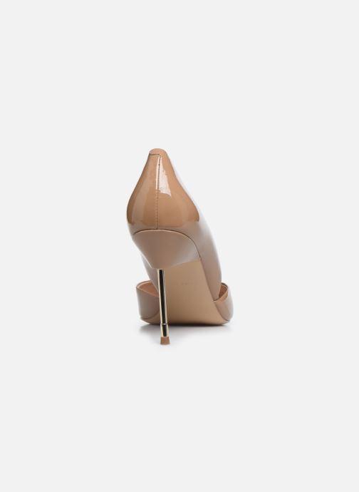 Zapatos de tacón Kurt Geiger BOND 90 Beige vista lateral derecha