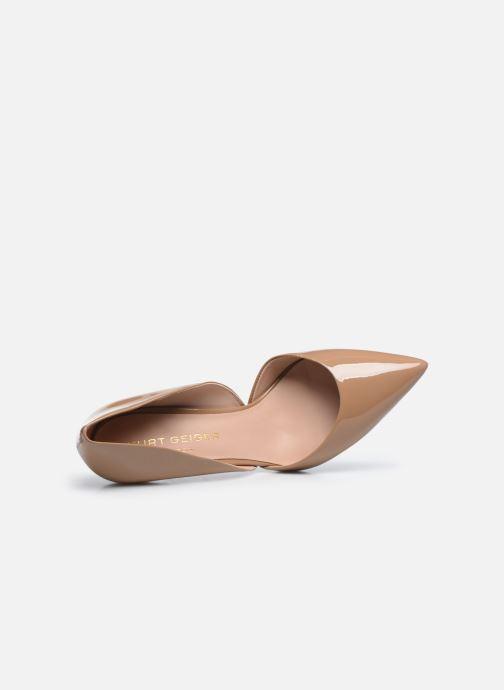 Zapatos de tacón Kurt Geiger BOND 90 Beige vista lateral izquierda