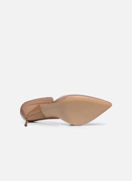 Zapatos de tacón Kurt Geiger BOND 90 Beige vista de arriba