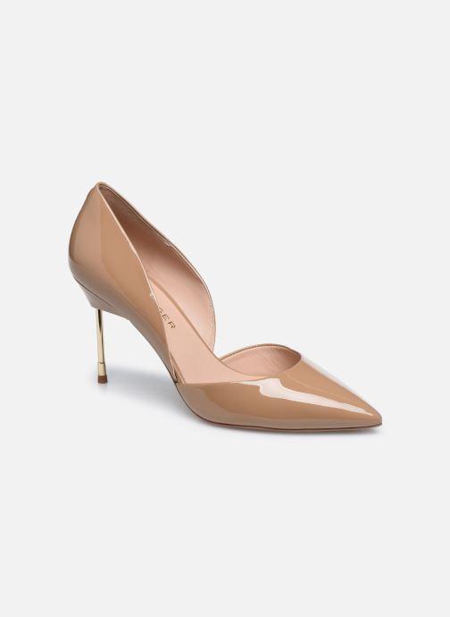 Zapatos de tacón Kurt Geiger BOND 90 Beige vista de detalle / par