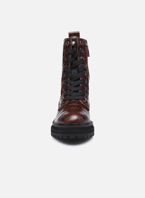 Bottines et boots Kurt Geiger SIVA Bordeaux vue portées chaussures