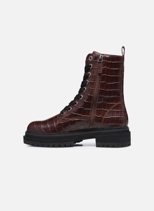Bottines et boots Kurt Geiger SIVA Bordeaux vue face