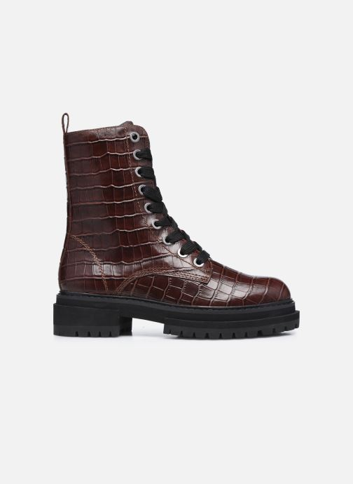 Bottines et boots Kurt Geiger SIVA Bordeaux vue derrière