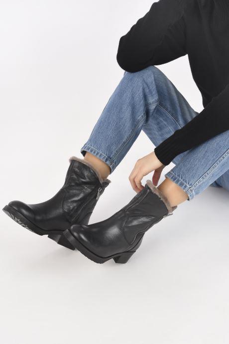 Bottines et boots Kurt Geiger SOLAR Noir vue bas / vue portée sac