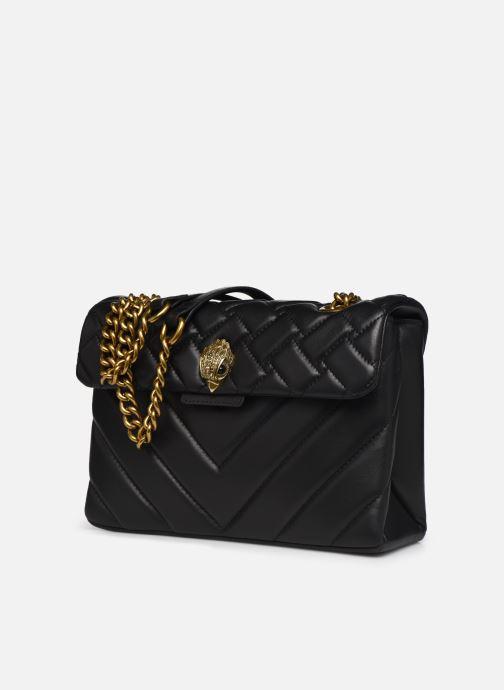 Sacs à main Kurt Geiger LEATHER KENSINGTON X BAG Noir vue portées chaussures