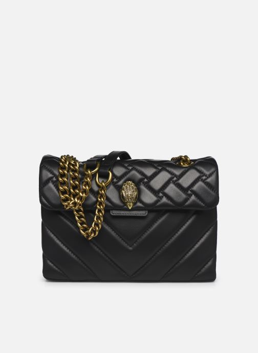 Handtassen Kurt Geiger LEATHER KENSINGTON X BAG Zwart detail