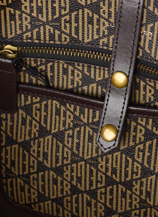 Handtaschen Kurt Geiger MONOGRAM RICHMOND SHOPPER braun ansicht von hinten