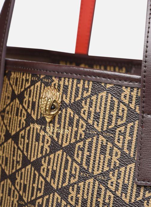 Handtaschen Kurt Geiger MONOGRAM RICHMOND SHOPPER braun ansicht von links