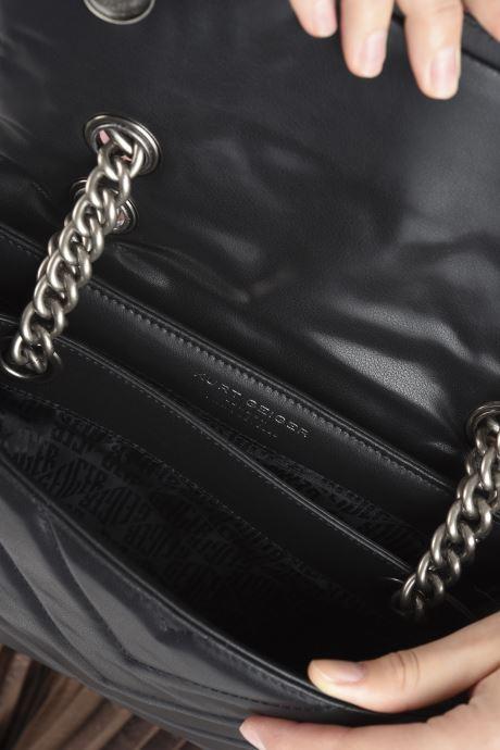 Handtaschen Kurt Geiger RECYCLED KENSINGTON schwarz ansicht von hinten
