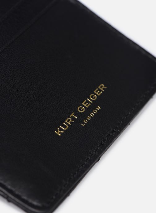 Petite Maroquinerie Kurt Geiger CARD HOLDER Noir vue gauche