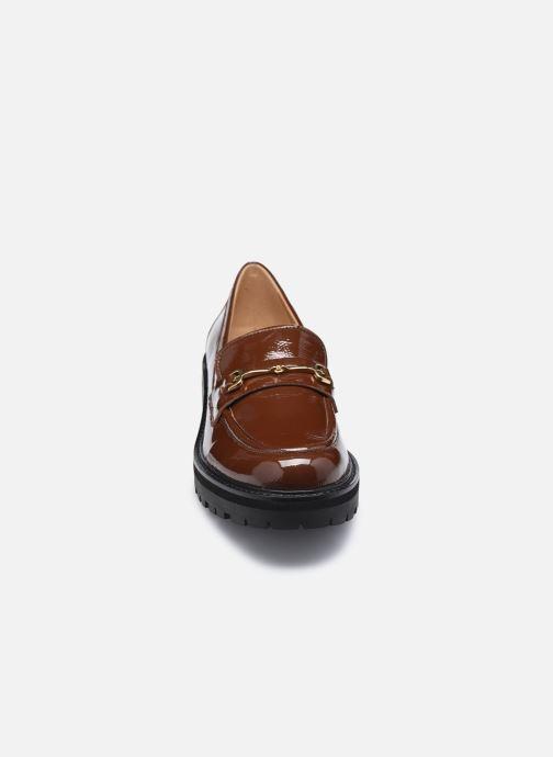 Mocassins Sam Edelman Tully Marron vue portées chaussures