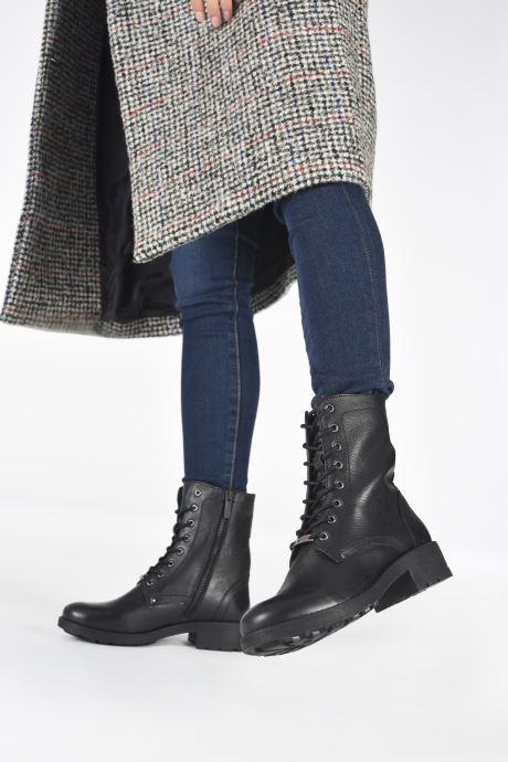 Bottines et boots Les Tropéziennes par M Belarbi LAYA Noir vue bas / vue portée sac