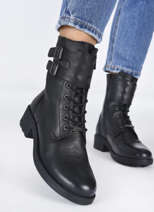 Bottines et boots Les Tropéziennes par M Belarbi LACIS Noir vue bas / vue portée sac