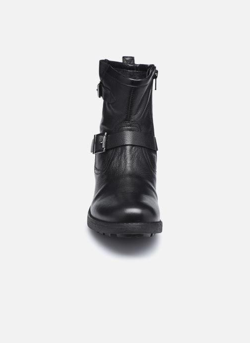 Bottines et boots Les Tropéziennes par M Belarbi LOOKY Noir vue portées chaussures