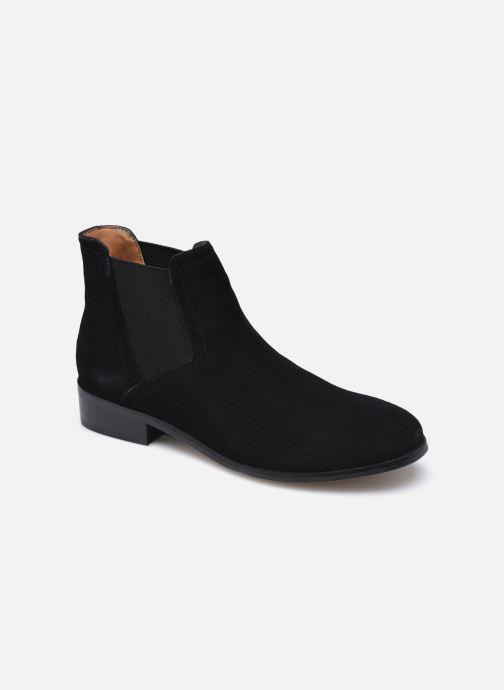 Bottines et boots Les Tropéziennes par M Belarbi UZOU Noir vue détail/paire