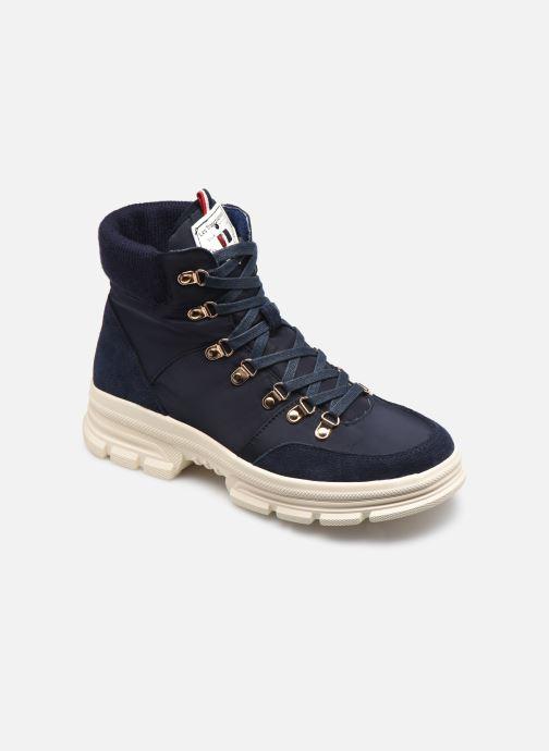 Bottines et boots Les Tropéziennes par M Belarbi CAKE Bleu vue détail/paire