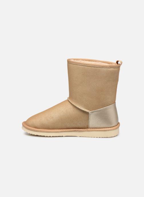 Stiefel Pepe jeans Angel Shiny gold/bronze ansicht von vorne