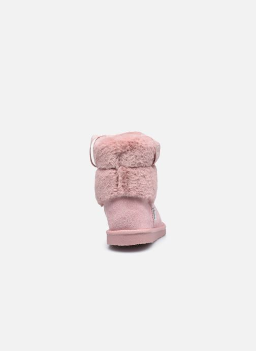 Bottes Pepe jeans Angel Plush Rose vue droite