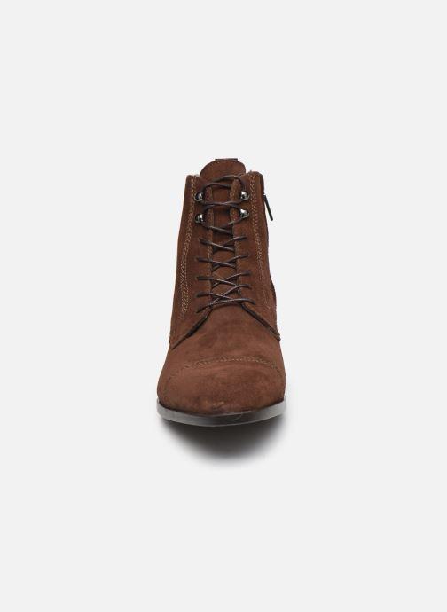 Bottines et boots Giorgio1958 67348I20 Marron vue portées chaussures