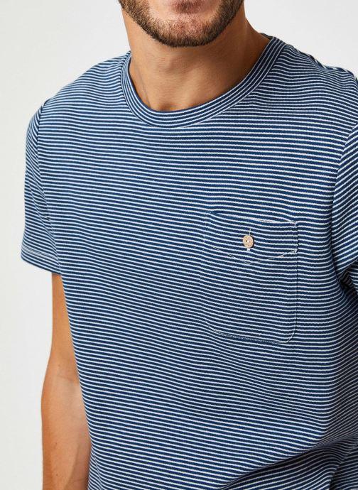 Vêtements Faguo Olonne T-Shirt Cotton Bleu vue face