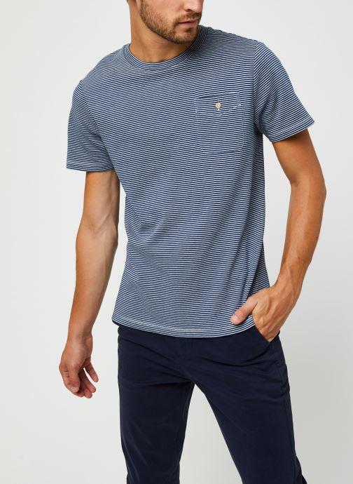 Vêtements Faguo Olonne T-Shirt Cotton Bleu vue droite