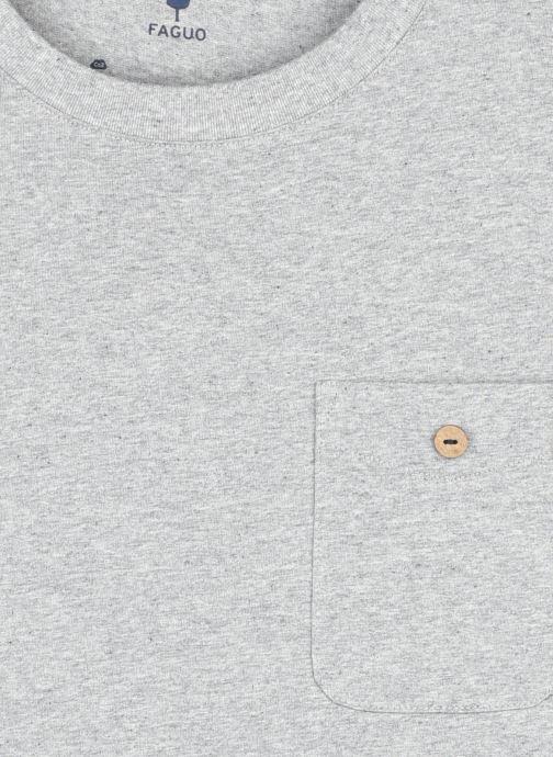 Faguo T-shirt - Olonne T-Shirt Cotton (Gris) - Vêtements chez Sarenza (448370) CASAT