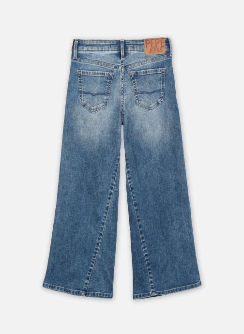 Vêtements Pepe jeans Haily Floral Bleu vue portées chaussures
