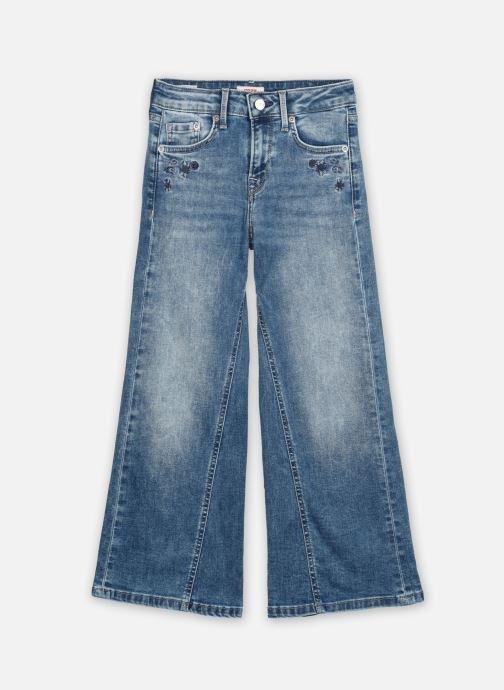 Vêtements Pepe jeans Haily Floral Bleu vue détail/paire