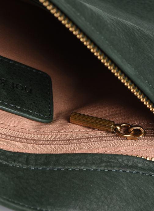 Handtaschen Nat & Nin ABBY grün ansicht von hinten