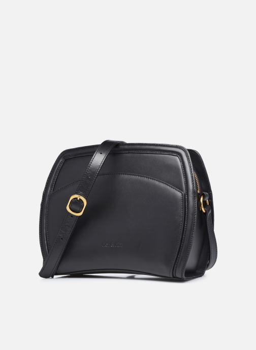 Handtaschen Nat & Nin AGATA schwarz schuhe getragen