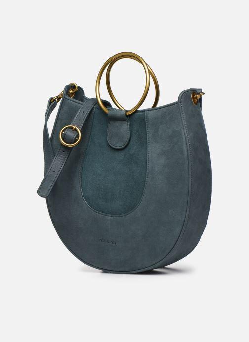 Handtaschen Nat & Nin BROOKE blau schuhe getragen