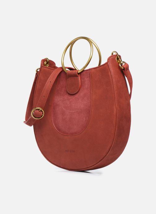 Bolsos de mano Nat & Nin BROOKE Rojo vista del modelo