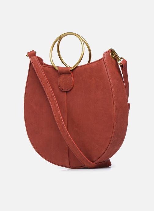 Handtaschen Nat & Nin BROOKE rot ansicht von rechts