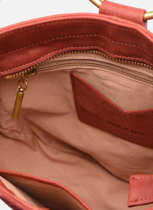 Handtaschen Nat & Nin BROOKE rot ansicht von hinten