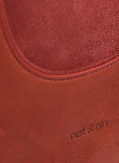 Bolsos de mano Nat & Nin BROOKE Rojo vista lateral izquierda