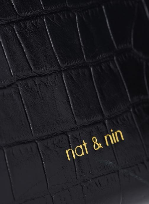 Sacs à main Nat & Nin DAISY Noir vue gauche
