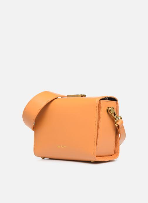 Sacs à main Nat & Nin DAISY Orange vue portées chaussures