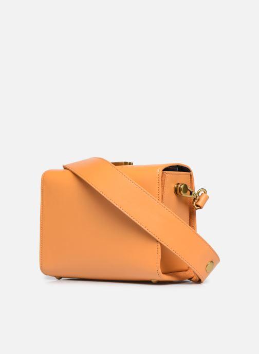 Handtaschen Nat & Nin DAISY orange ansicht von rechts
