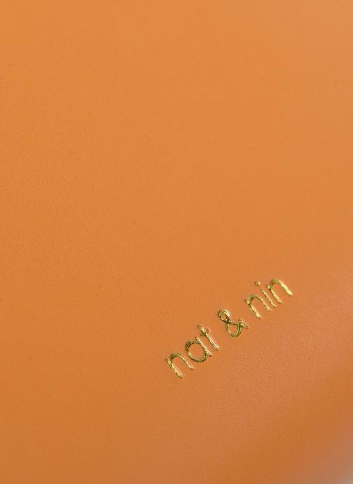Handtaschen Nat & Nin DAISY orange ansicht von links