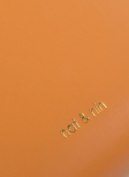 Sacs à main Nat & Nin DAISY Orange vue gauche