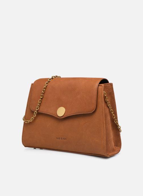 Handtaschen Nat & Nin ENORA braun schuhe getragen